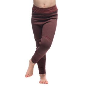 Houdini Jr Alpha Long Johns Mulberry Red